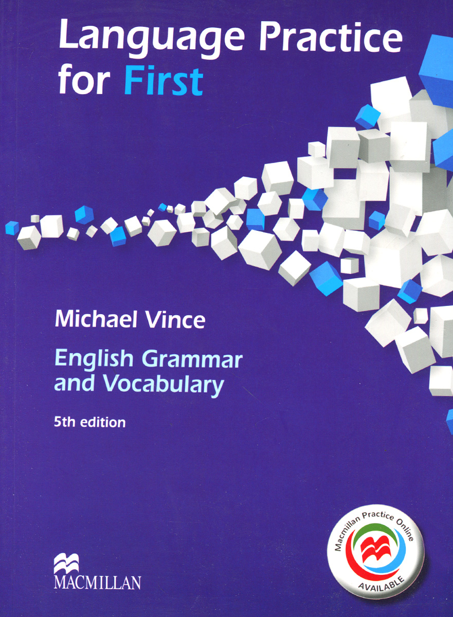 Language Practice for First: English Grammar and Vocabulary цены