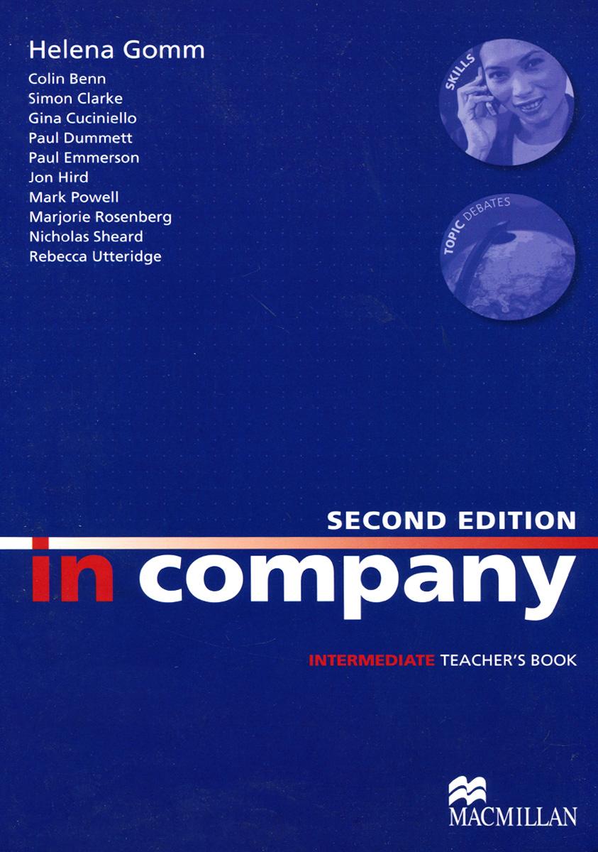 Фото - In Company: Intermediate: Teacher's Book the business book