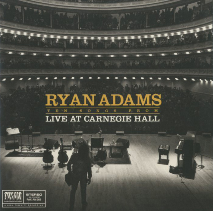 Райан Адамс Ryan Adams. Ten Songs From Live At Carnegie Hall райан адамс ryan adams 1989