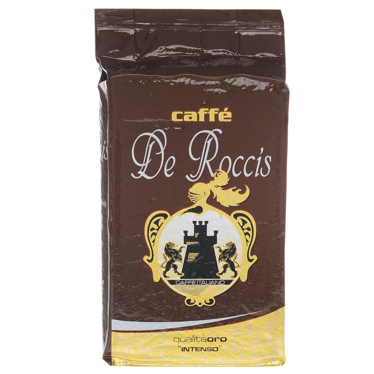 De Roccis Oro кофе молотый, 250 г цены онлайн