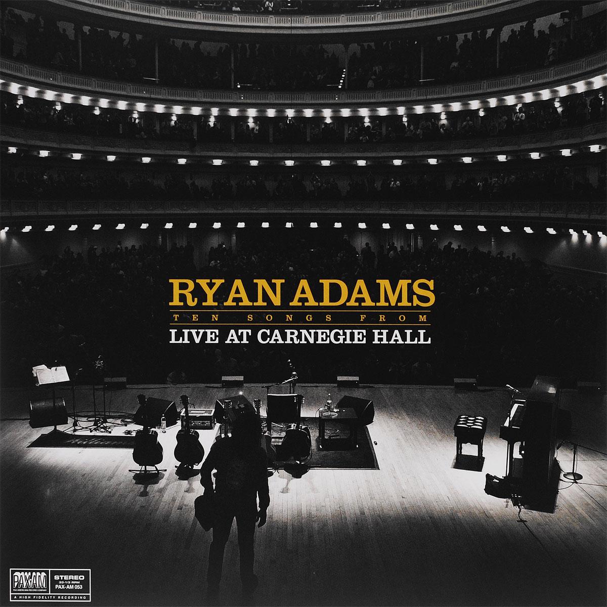 Райан Адамс Ryan Adams. Ten Songs From Live At Carnegie Hall (LP) райан адамс ryan adams 1989