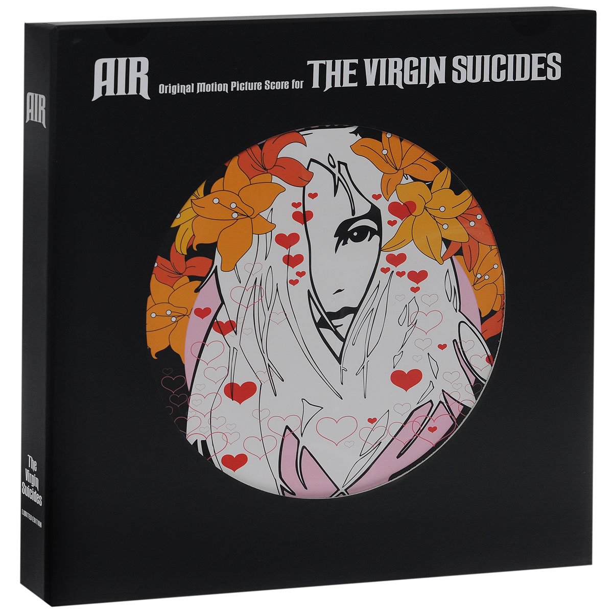 Air Air. The Vigin Suicides. Limited Edition (2 CD + 3 LP) jan hambright dark guardian