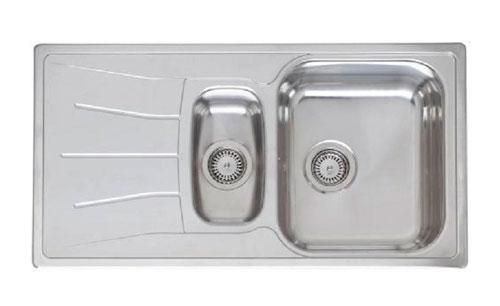 Мойка кухонная REGINOX Diplomat 15 LINEN KGOKG (pallet) pl.col. pop up