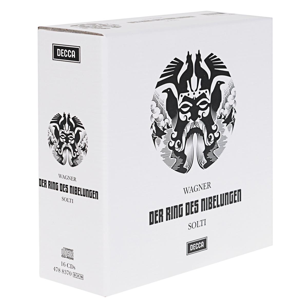 Wiener Philharmoniker Orchestra Solti. Wiener Philharmoniker. Wagner. Der Ring Des Nibelungen (16 CD + CD-ROM) cd leonard bernstein wiener philharmoniker