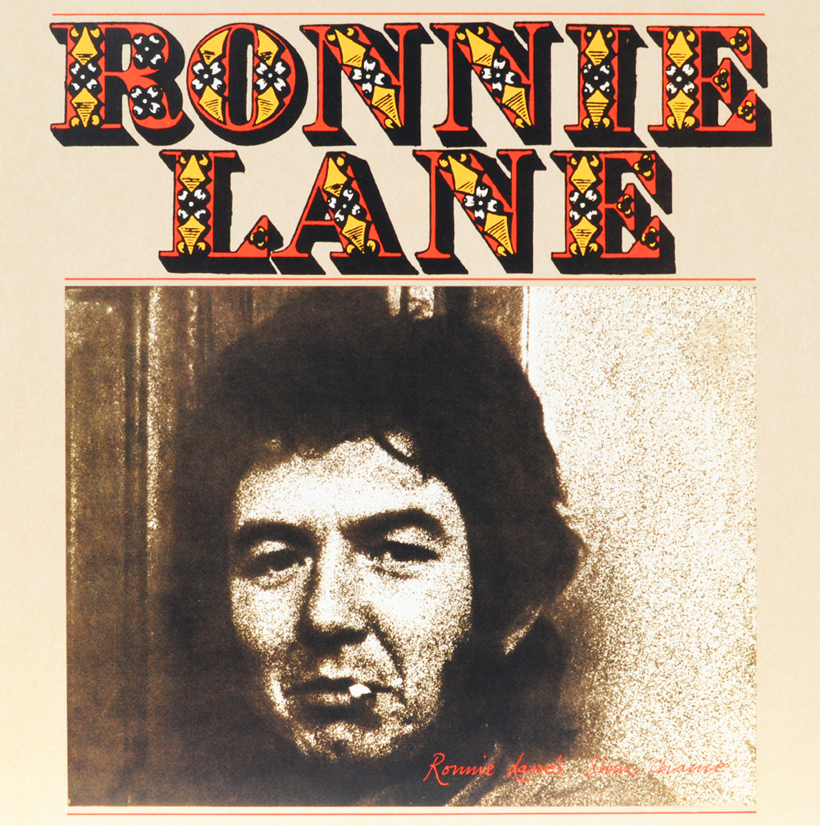 Ронни Лейн Ronnie Lane. Ronnie Lane's Slim Chance (LP) janeke golden wide teeth comb with handle page 10