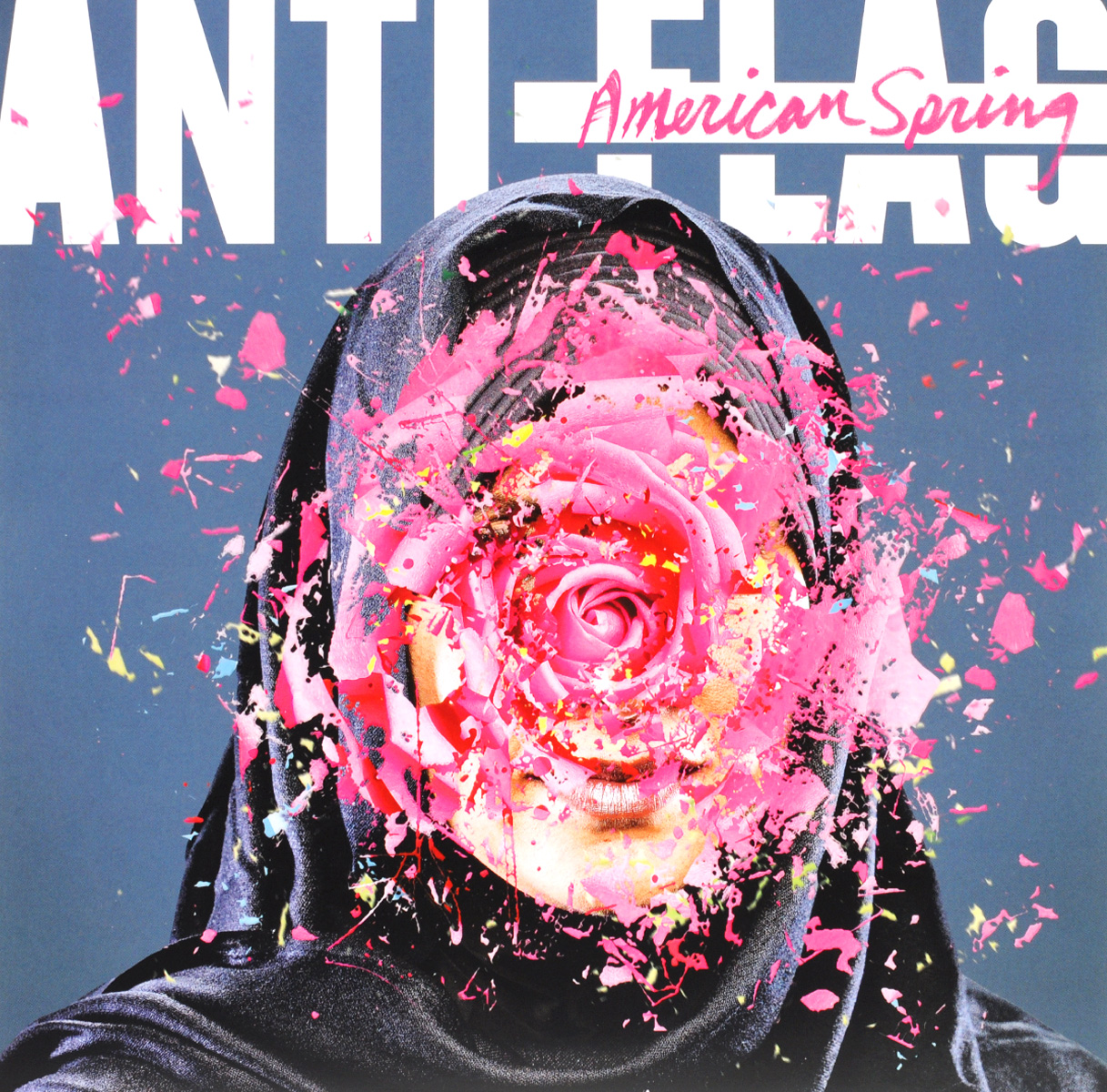 Фото - Anti-Flag Anti-Flag. American Spring (LP) round neck american flag print tank top