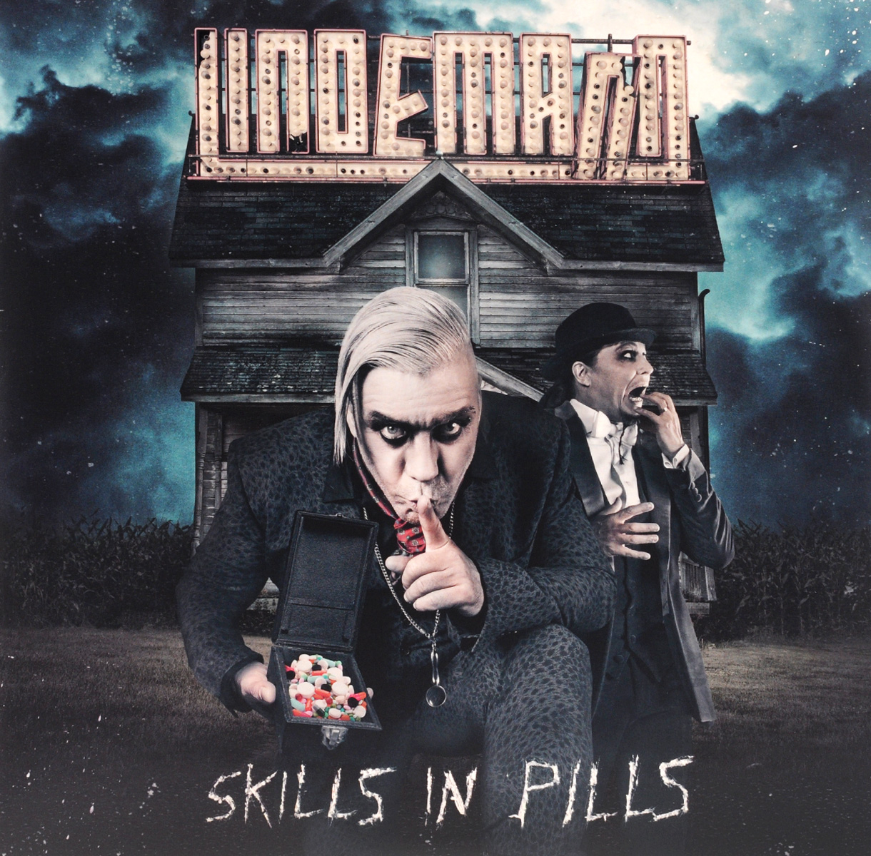 Тилл Линдеманн Lindemann. Skills In Pills (LP) cradle of filth cradle of filth hammer of the witches 2 lp