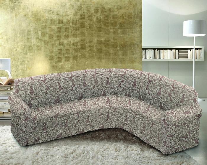 Чехол на классический угловой диван Еврочехол Виста. Грация цена