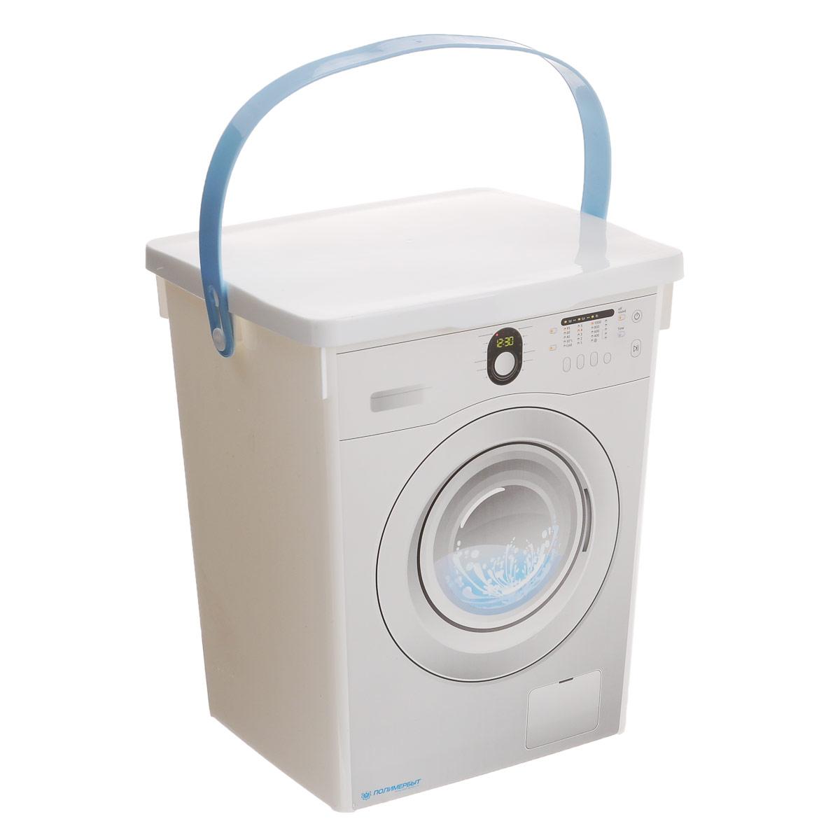 Контейнер для стирального порошка Полимербыт, 5 л контейнер полимербыт лайт цвет голубой 3 л