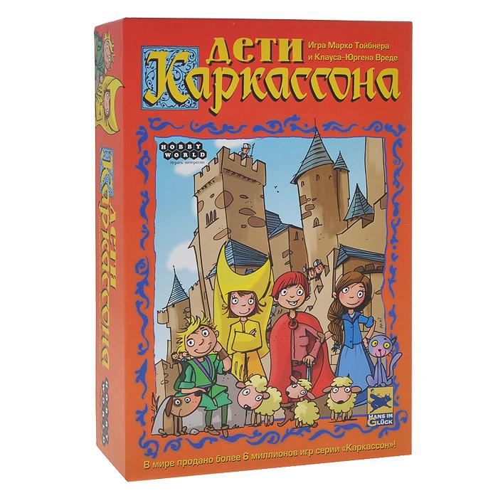 цена на Hobby World Настольная игра Дети Каркассона (2-е издание)