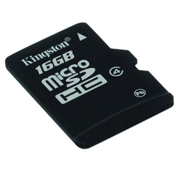 Kingston microSDHC Class 4 16GB карта памяти