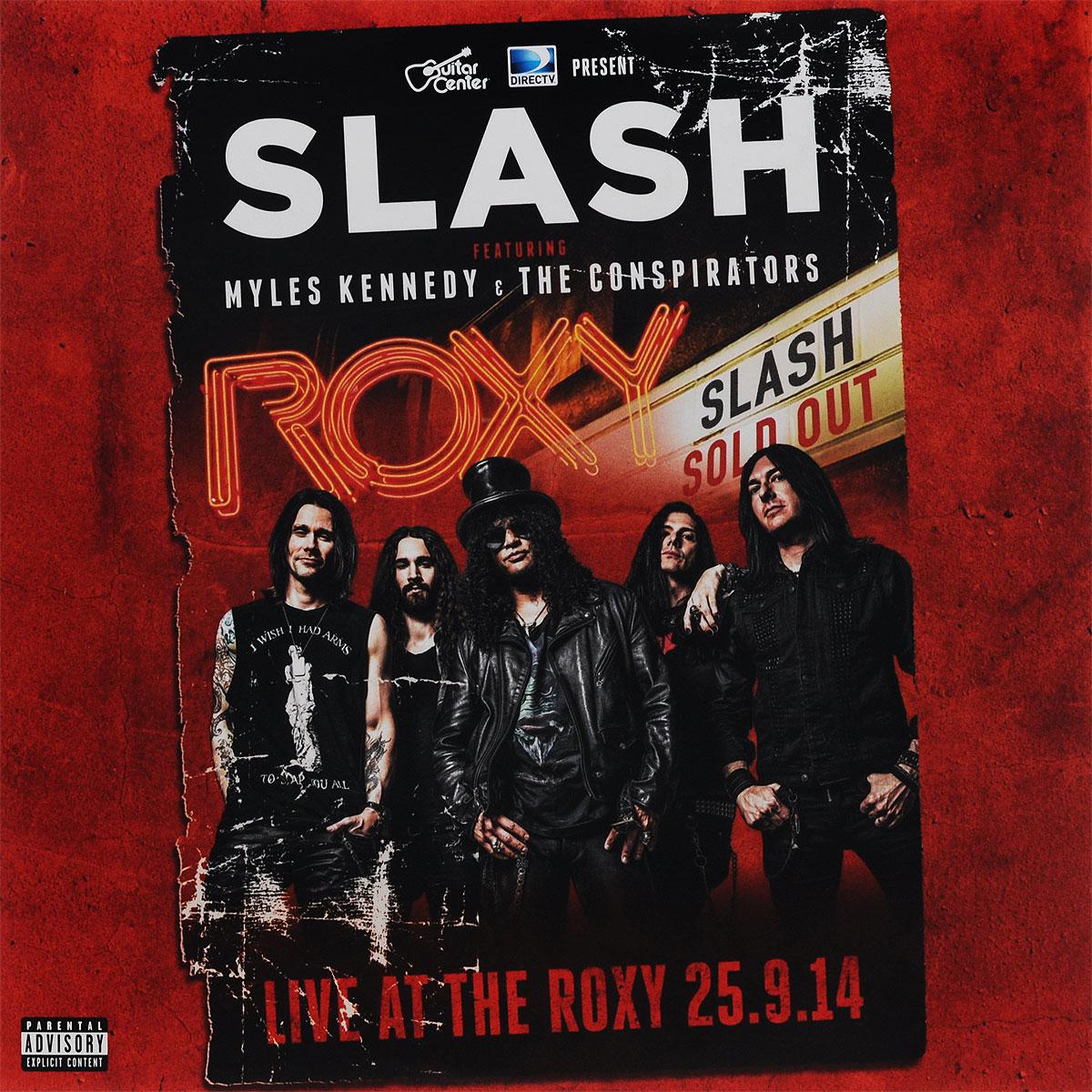 Slash,Майлс Кеннеди,The Conspirators Slash Featuring Myles Kennedy & The Conspirators. Live At The Roxy 25.09.14 (3 LP) slash slash world on fire 2 lp
