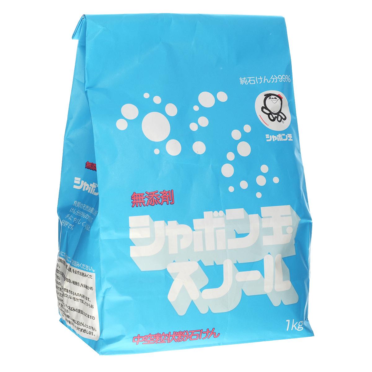 """Shabondama """"Сноул"""" Натуральное порошковое мыло для стирки белья (бумажный пакет), 1 кг"""