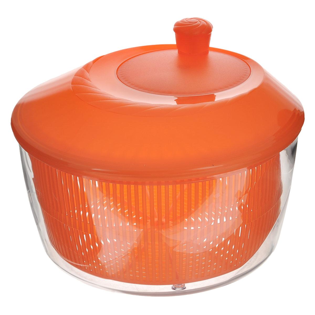"""Сушилка для зелени """"Cosmoplast"""", цвет: оранжевый, 4,2 л"""