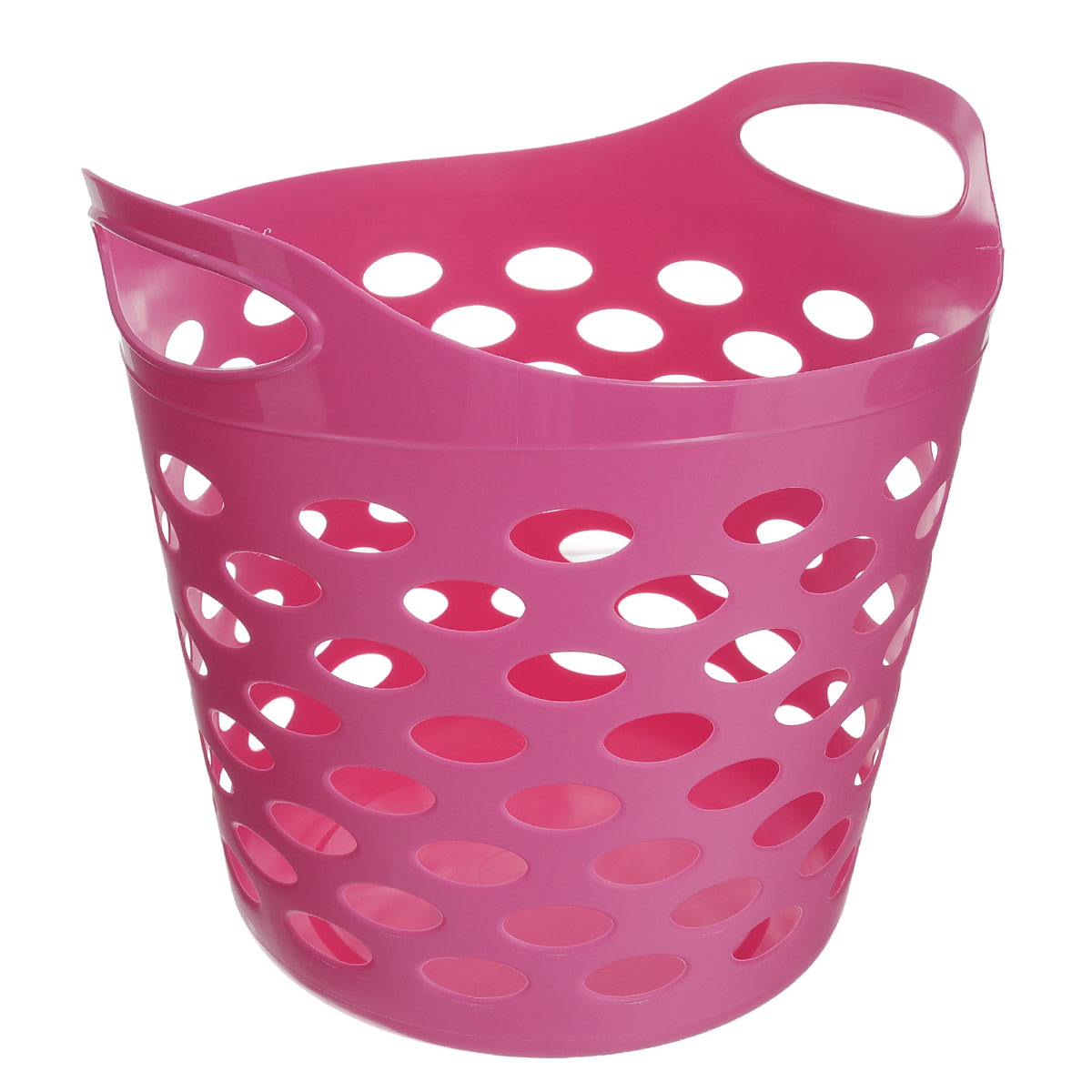 Корзина универсальная Gensini, цвет: розовый, 32 л корзины сотовые 120х450х450 белая