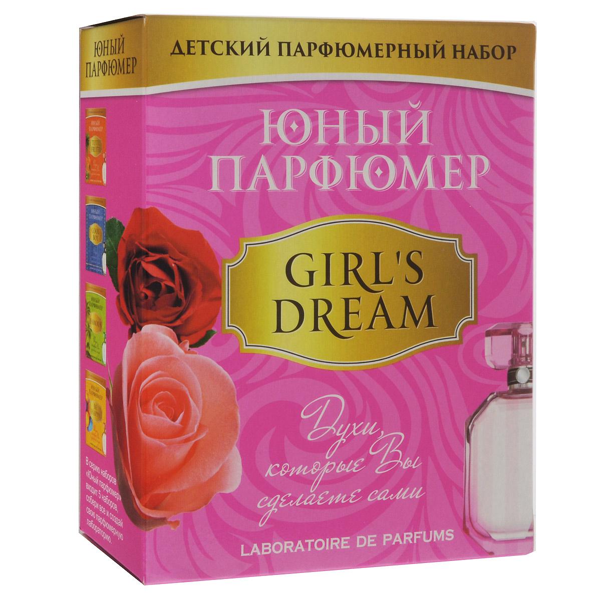 Набор для создания духов Master IQ2 Юный парфюмер. Girls Dream326Набор для создания духов Юный парфюмер. Girls Dream позволит ребенку самостоятельно создать свои собственные духи для неповторимого образа. Набор представляет собой настоящую лабораторию, в которой можно изучить историю парфюмерии, узнать базовые принципы создания духов, а главное - поэкспериментировать с составлением собственных парфюмерных композиций. С помощью данного набора ребенок сможет создать сам три вида классических французских духов. Комплект включает все необходимое для создания своего парфюмерного образа и более 10 сочетаний ароматов: основа духов, парфюмерные масла ванили, розы и пачули, стеклянная пробирка, пипетки Пастера, флакон, полоски-тестеры. Также в наборе красочная инструкция - надежный помощник в освоении парфюмерного искусства.