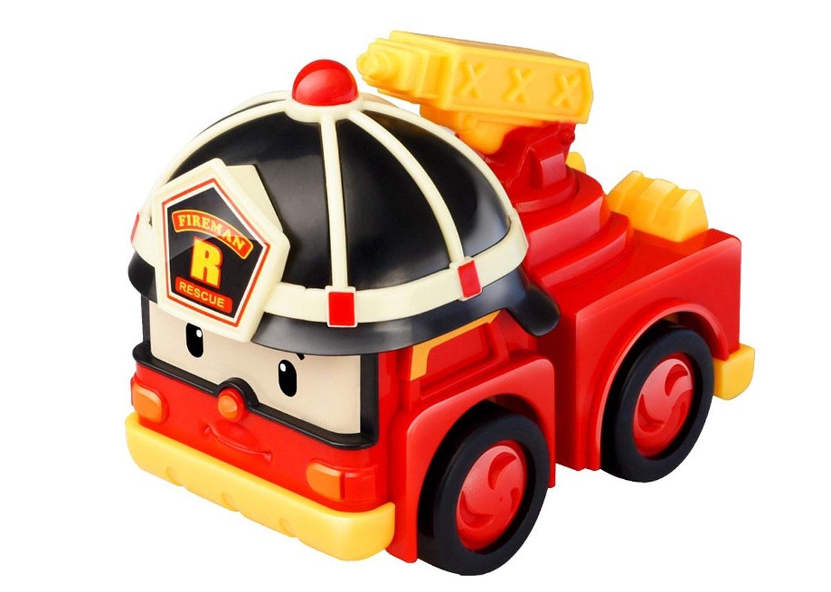 Robocar Poli Игрушка-трансформер Рой с аксессуарами робот трансформер silverlit robocar poli рой мега трансформер 83284