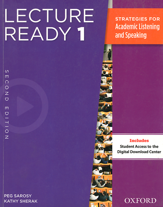 Lecture Ready 1: Strategies for Academic Listening and Speaking aish f tomlinson j lectures learn listening and note taking skills mp3