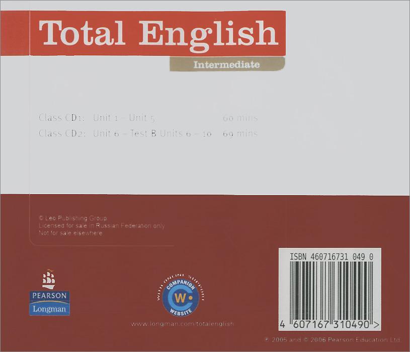 Total English: Intermediate: Class CDs (аудиокурс на 2 CD)
