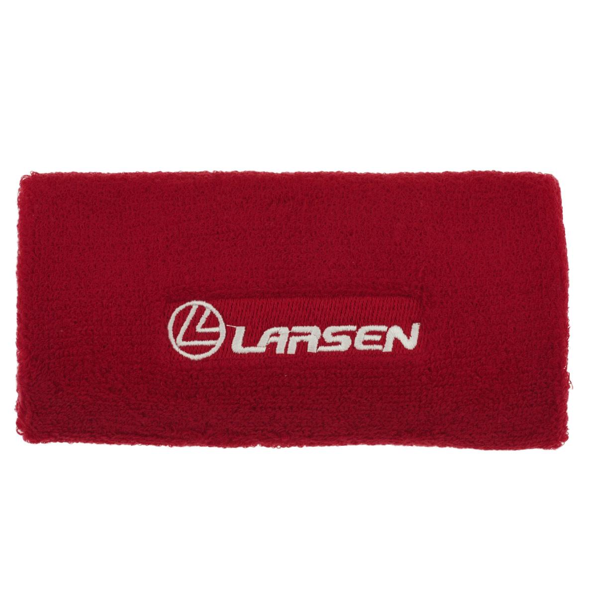 Напульсник широкий Larsen, цвет: красный