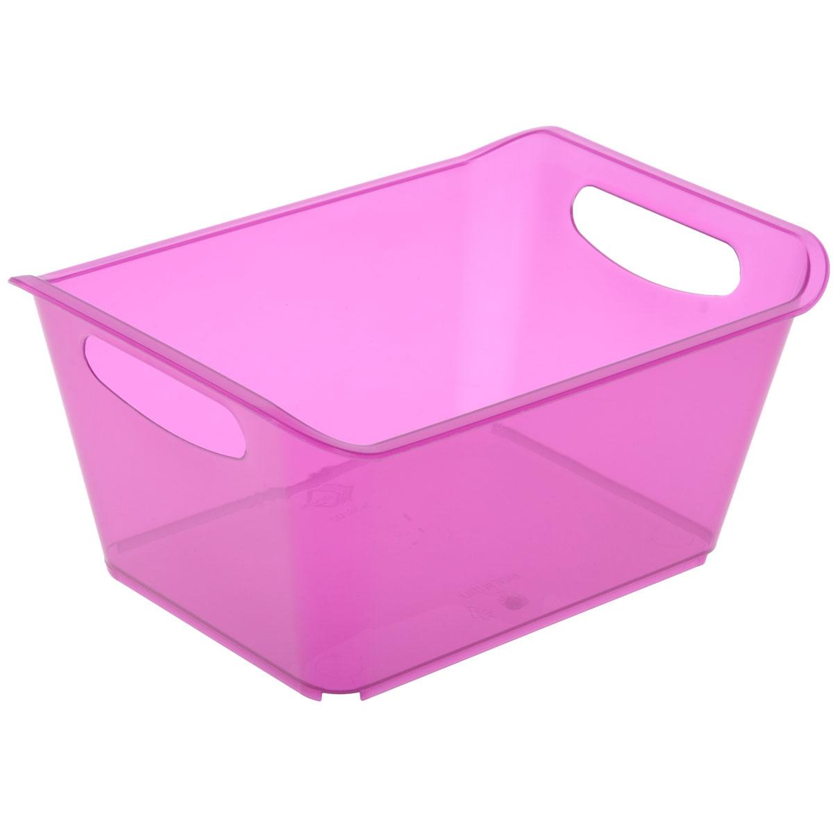 Контейнер Gensini, цвет: сиреневый, 1,5 л контейнер gensini цвет сиреневый 10 л
