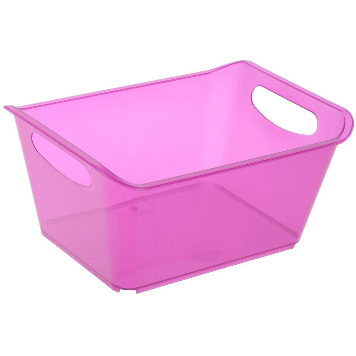 Контейнер Gensini, цвет: сиреневый, 5 л контейнер gensini цвет сиреневый 10 л