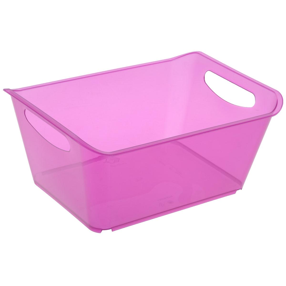 Контейнер Gensini, цвет: сиреневый, 10 л контейнер gensini цвет сиреневый 10 л