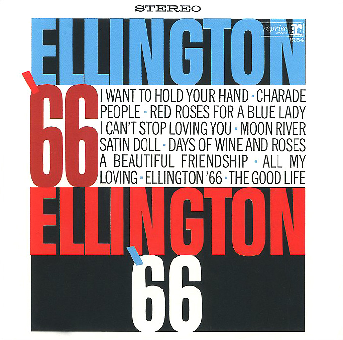 Дюк Эллингтон Duke Ellington. Ellington '66 duke ellington it s showtime