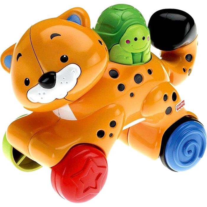 Fisher-Price развивающая игрушка Гепард fisher price infant каталка обучающая черепашка на колесиках