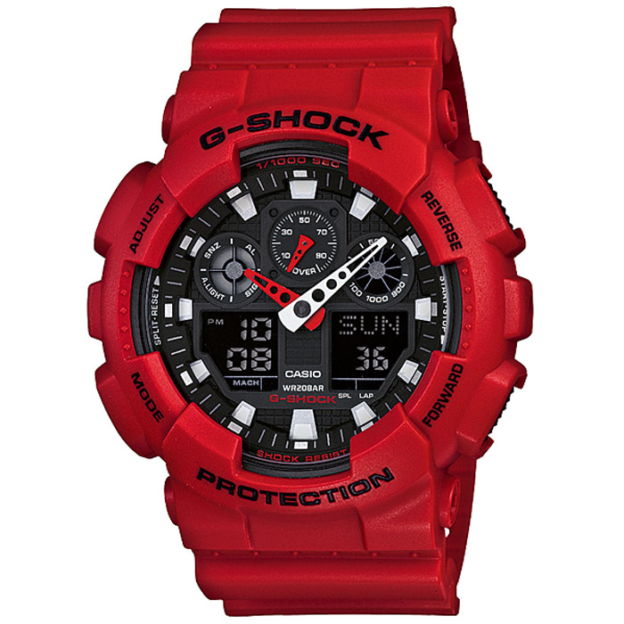 Наручные часы Casio GA-100B-4A все цены