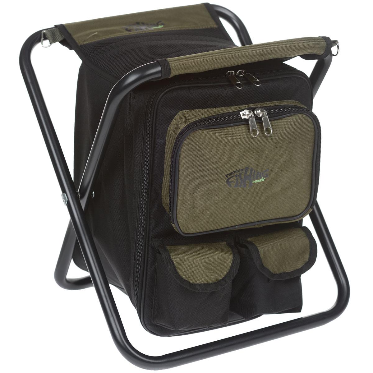 Стул-рюкзак Norfin Luton NF, цвет: хаки цена