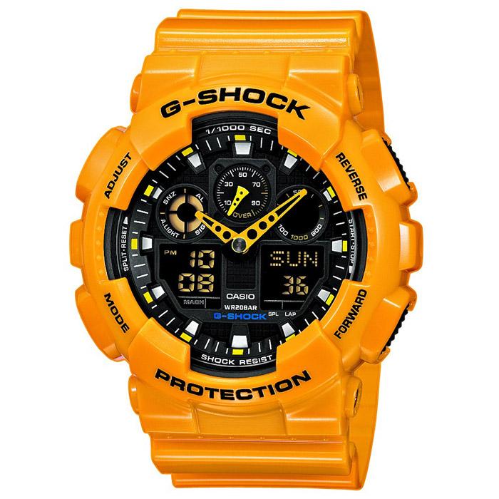 Наручные часы Casio GA-100A-9A цена и фото