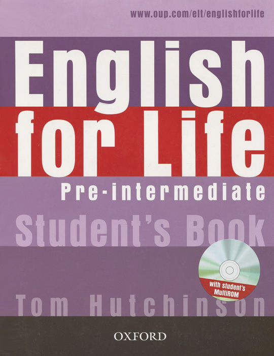 English for Life: Pre-Intermediate: Student's Book (+ CD) collins spanish in one click book with cd