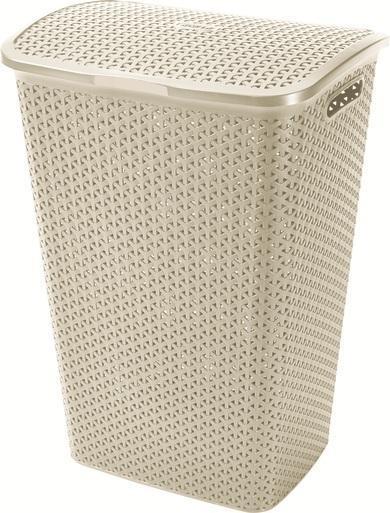 Корзина для белья Curver, цвет: молочный корзина для белья curver цвет фисташковый 45 л