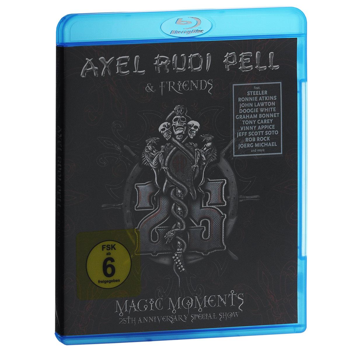 цена Axel Rudi Pell & Friends. Magic Moments. 25th Anniversary Special Show (Blu-ray) онлайн в 2017 году