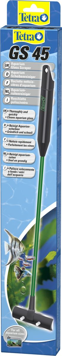 Скребок для аквариума Tetra GS 45 с лезвием скребок для аквариума tetra mc m магнитный