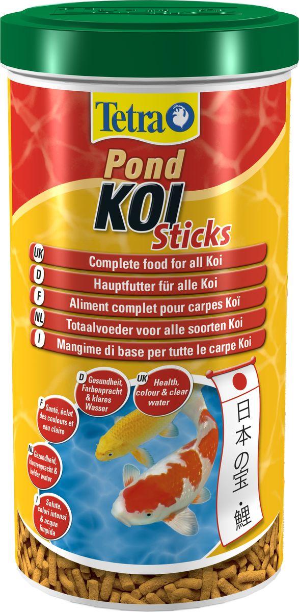 Корм для кои Tetra Koi Sticks основной, 1 л tetra корм tetra koi beauty s для карпов кои размером более 10 см в виде плавающих гранул 10 л