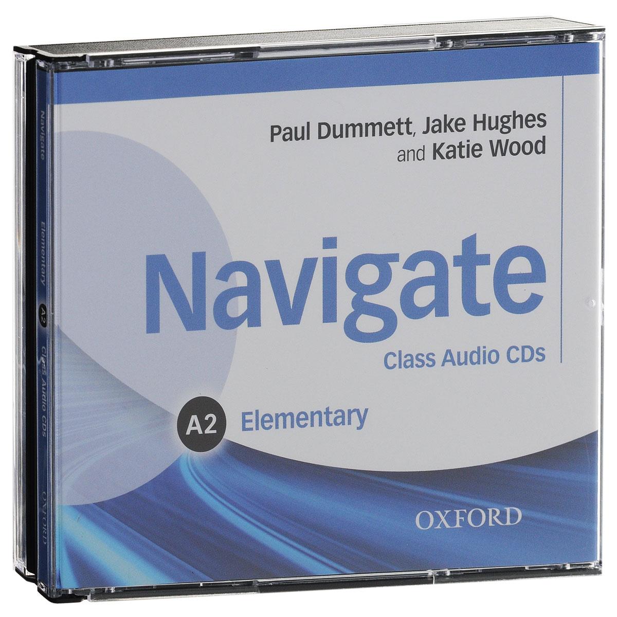 Navigate: Elementary A2: Class Audio CDs
