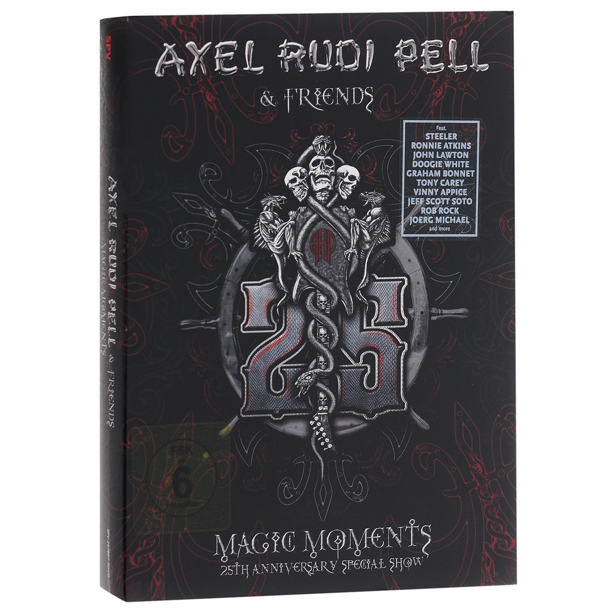 цена Axel Rudi Pell & Friends: Magic Moments. 25th Anniversary Spesial Sgow (3 DVD) онлайн в 2017 году
