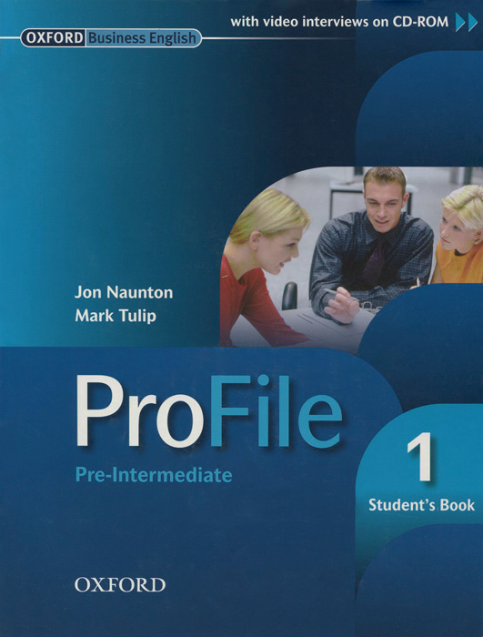 ProFile: Pre-Intermediate 1: Student's Book (+ CD-ROM) new step ahead students book 1 cd rom
