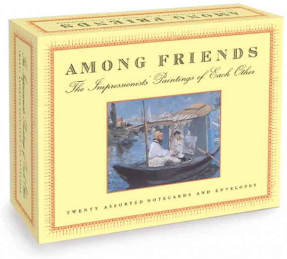 Among Friends: A Postcard Book a spy among friends