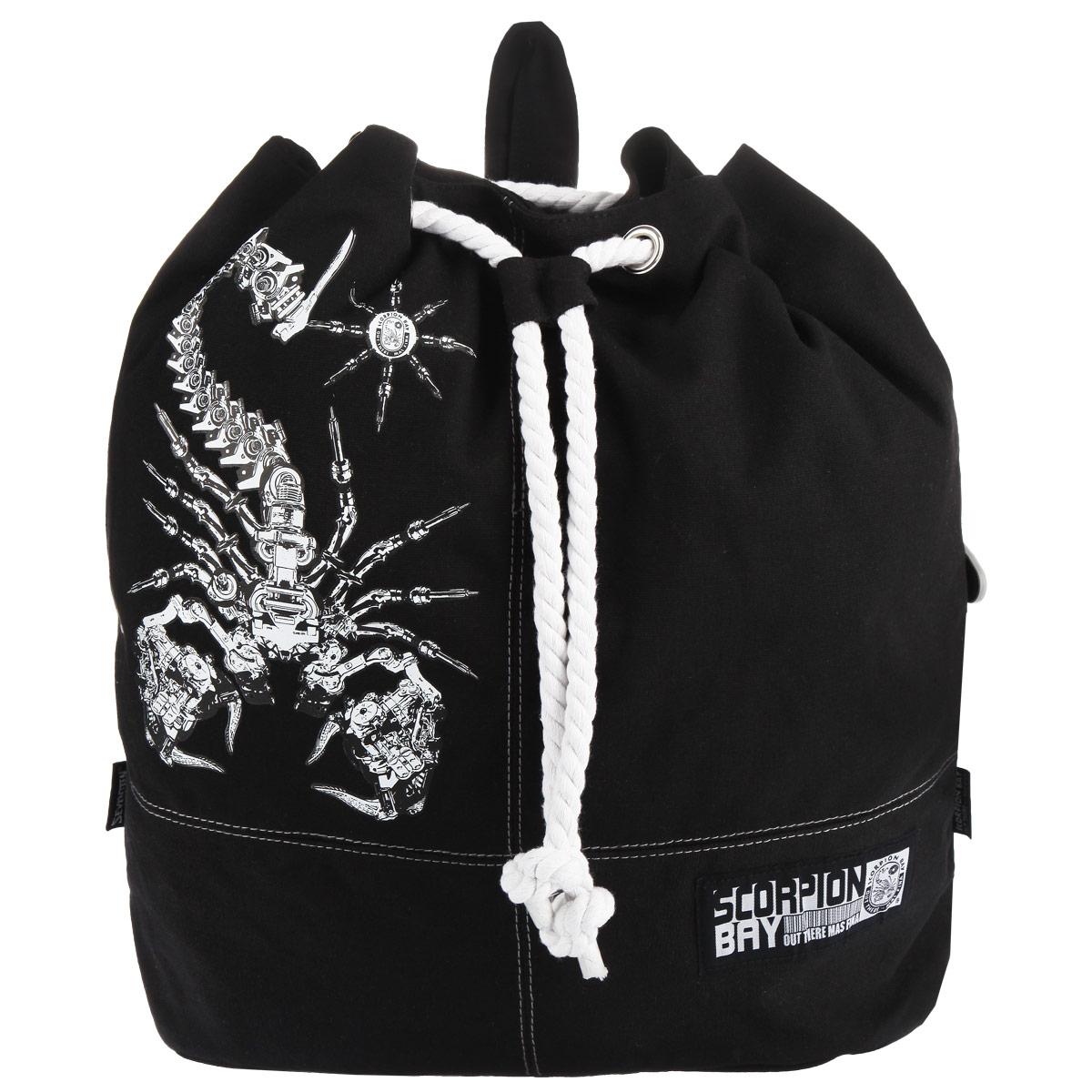 цена на Рюкзак-мешок Scorpion Bay, цвет: черный. SCCB-UT1-721