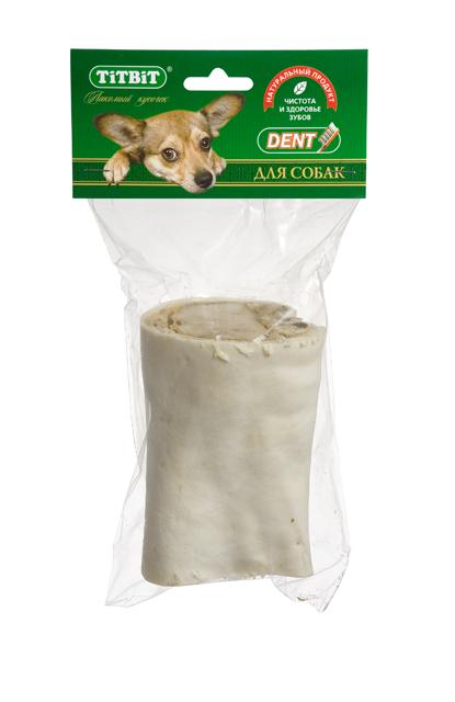 Лакомство для собак Titbit, голень говяжья, малая лакомство для собак titbit голень баранья 2 шт