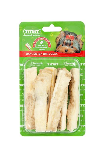 Лакомство для собак Titbit, соломка из говяжьей кожи 607 2015