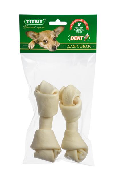 """Лакомство для собак""""Titbit"""", кость узловая №4, 2 шт"""