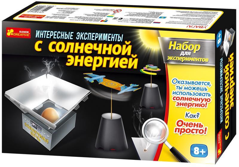 Ranok Набор для экспериментов Интересные эксперименты с солнечной энергией