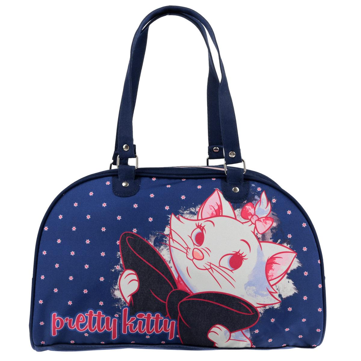 55c636c10973 Стильная сумочка Marie Cat порадует любую модницу и поклонницу мультфильма.  Сумочка имеет одно вместительное отделение, закрывающееся на молнию.