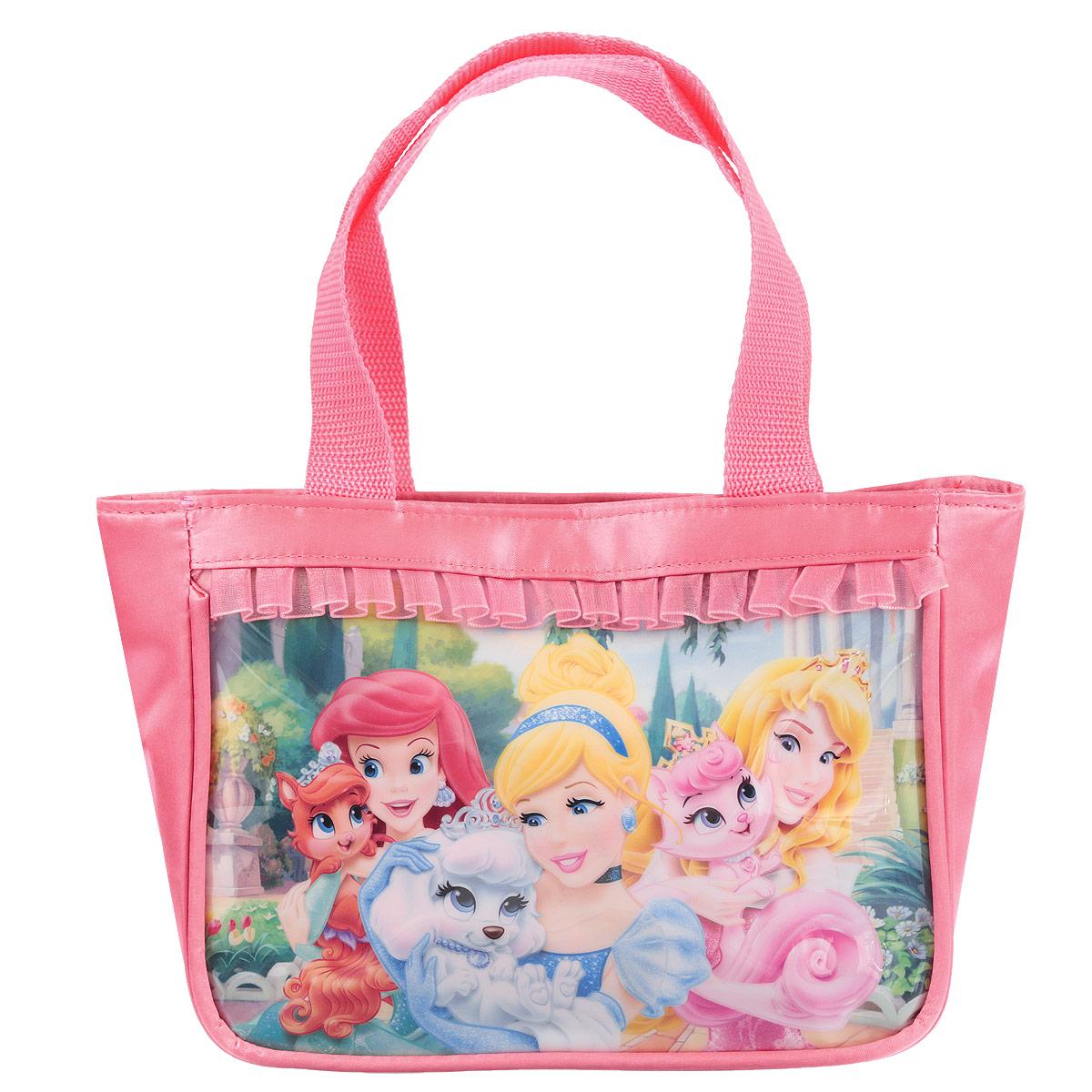 Сумочка детская Princess, цвет: розовый сумочка princess цвет розовый prcb ut4 4017