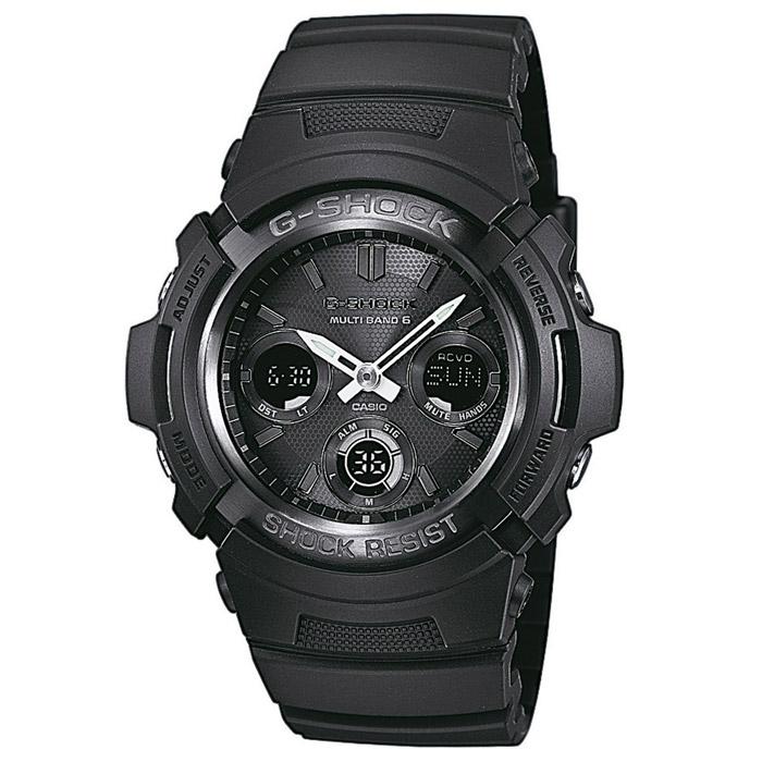 Наручные часы Casio AWG-M100B-1A катушка индуктивности jantzen cross coil 12 awg 2 mm 3 9 mh 0 42 ohm
