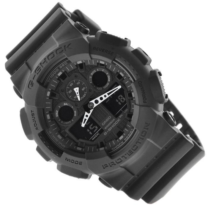 купить Наручные часы Casio GA-100-1A1 по цене 8990 рублей